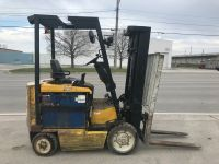 General Equipment 5000 lb Yale -Electric forklift -works really great