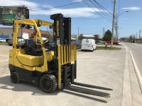 General Equipment 2015 Hyster 6000 lb forklift with fork positioner.