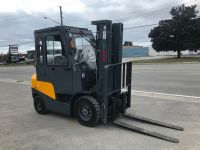 General Equipment New ATF/Vimar 5000lb Pneumatic forklift with Cab