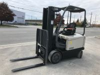 General Equipment 2013 Crown 5000 lb EE Electric forklift- A Great unit!