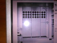 Kitchen and Bath brand new maxx shower doors chrome 54 1/2 x 66