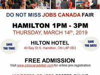 Administrative Jobs Hamilton Job Fair - March 14th, 2019