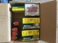 Guns & Hunting Supplies Ammunition - shotgun shells by the box or case and 22s.