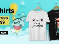 Clothing Buy Printed T-Shirts & Graphic T-Shirts Online in India