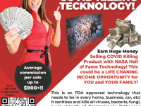 Business Opportunities Make Tons of Money with this COVID-killing Technology!!