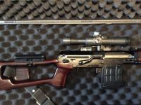 Guns & Hunting Supplies 1994 KBI imported Izhmash SVD Dragunov sniper rifle