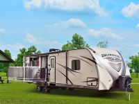 Travel Trailers 2015 Gulf Breeze Champagne 30RKP