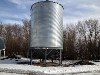Grain Bins 3100 Westeel SEEDSTOR hopper bin