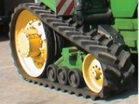 Tractors Agriculture tracks and Pull behind track systems