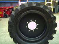 Skid Steers Solid tires for demolition