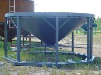 Grain Bins Middle Lake Steel 15 Foot Cone