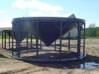 Grain Bins Middle Lake Steel 18 Foot Cone