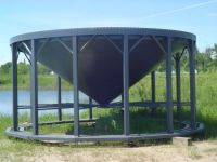Grain Bins Middle Lake Steel 21-22 Foot Cone