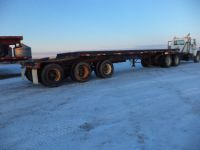 Highway Trailers 1979 34'  TRI AXLE LEAD FLATDECK  @ trailerguy.ca
