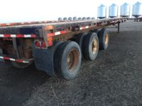 Highway Trailers 1984 FRUHAUF 45' TRIAXLE FLATS