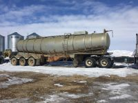Highway Trailers ALUMINUM TRIAXLE TANKER