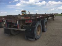 Highway Trailers 1986 FRUEHAUF 48' T/A  FLAT DECK