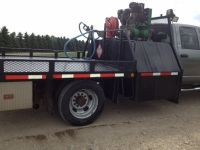 Grain / Flat Deck Truck Custom built deck/tank