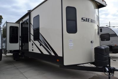 Introducing Forest River Sierra destination trailers!!