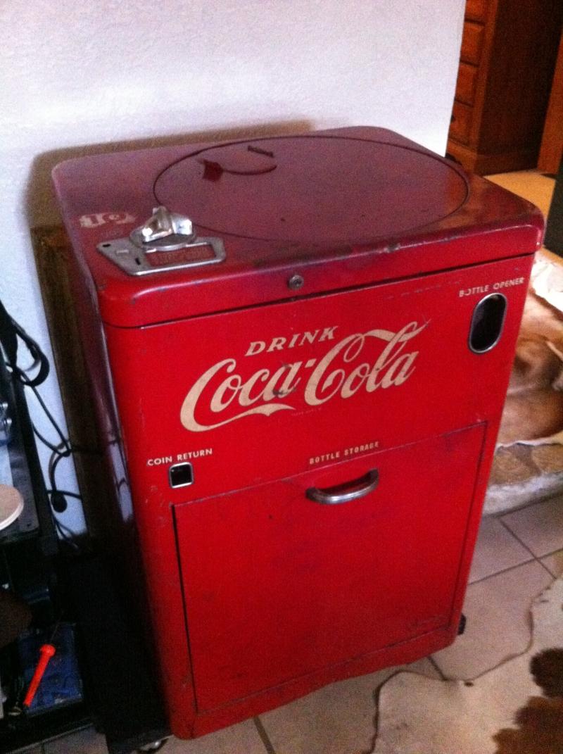 Flat Deck Trailer >> 1950's Coke Machine in Manor TX | Antiques