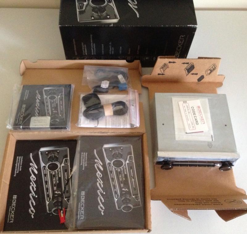 becker mexico retro be 7948 vintage gps navigation radio. Black Bedroom Furniture Sets. Home Design Ideas