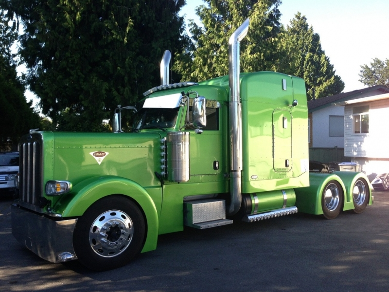 Red Deer Dump >> 2009 Peterbilt 389 Highway Tractor in Portland OR | Grain / Flat Deck Truck | CanSellAll Classifieds