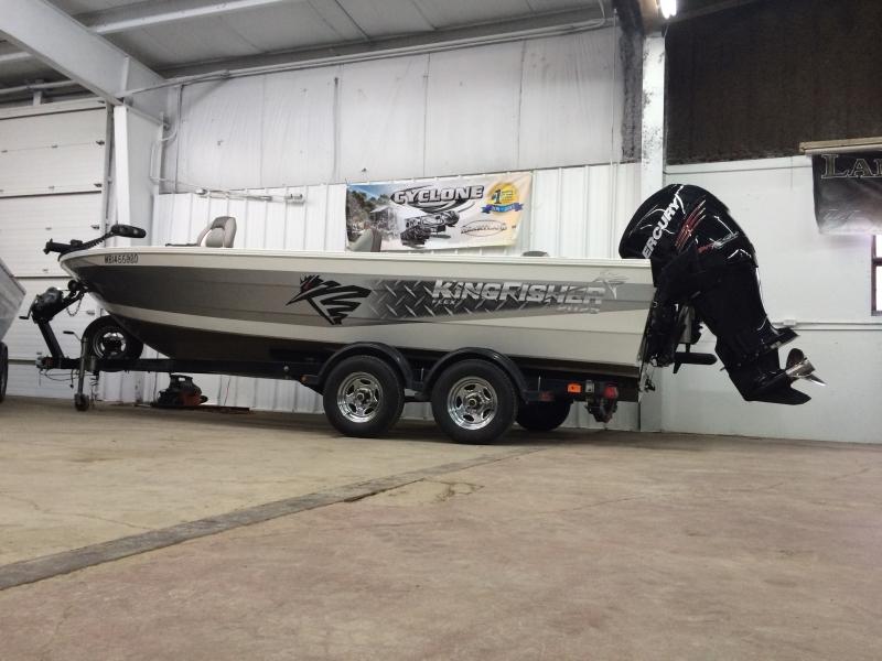 2014 KingFisher 2025 Flex Tiller in Lac La Ronge SK   Boat