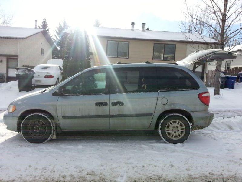 2005 Dodge Caravan For Sale 3000 00 O B O In Saskatoon
