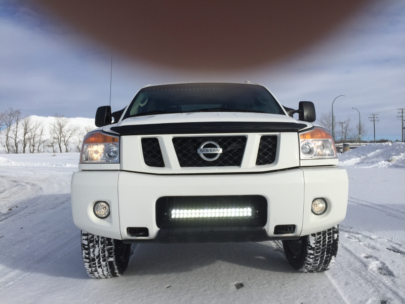 loaded 2008 nissan titan pro 4x in north battleford sk trucks 2000 10 cansellall classifieds. Black Bedroom Furniture Sets. Home Design Ideas