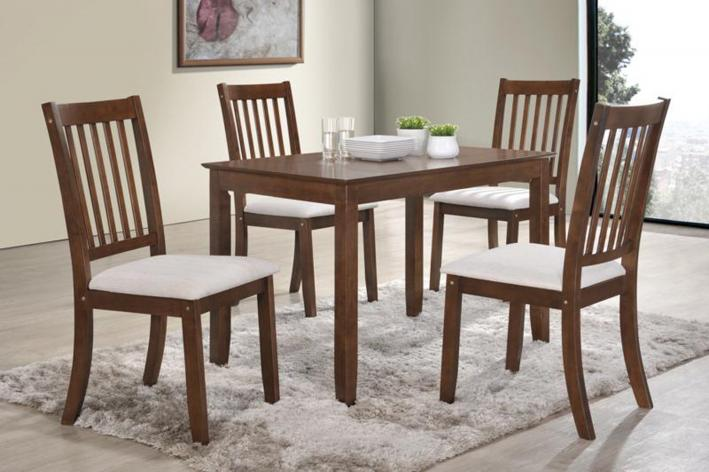 Solid wood elegant 5pcs dinning set brand new free for Home decor yorkton