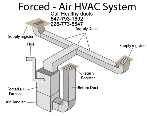 Healthy Air Ducts Clean In Kitchener In Kitchener On