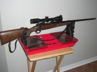 winchester 70 featherweight 300wsm with nikon 2.5 x 10