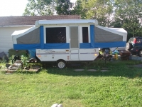 2002 Flag Staff tent Trailer excellent shape