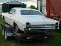 1968 Ford Galaxie 2 door hardtop
