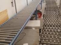 NEW PRICE 650 FOR TWO !!!ROLLER TABLE AND CONVEYOR ROLLER